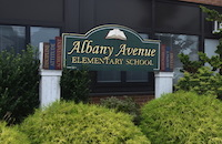 Albany Avenue Sign