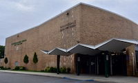 Farmingdale High School building areal