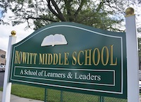 Howitt Middle School sign
