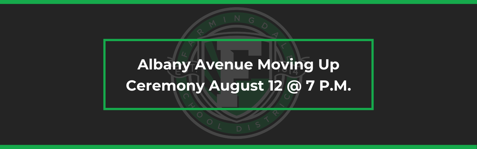 Albany Avenue Moving Up Ceremony