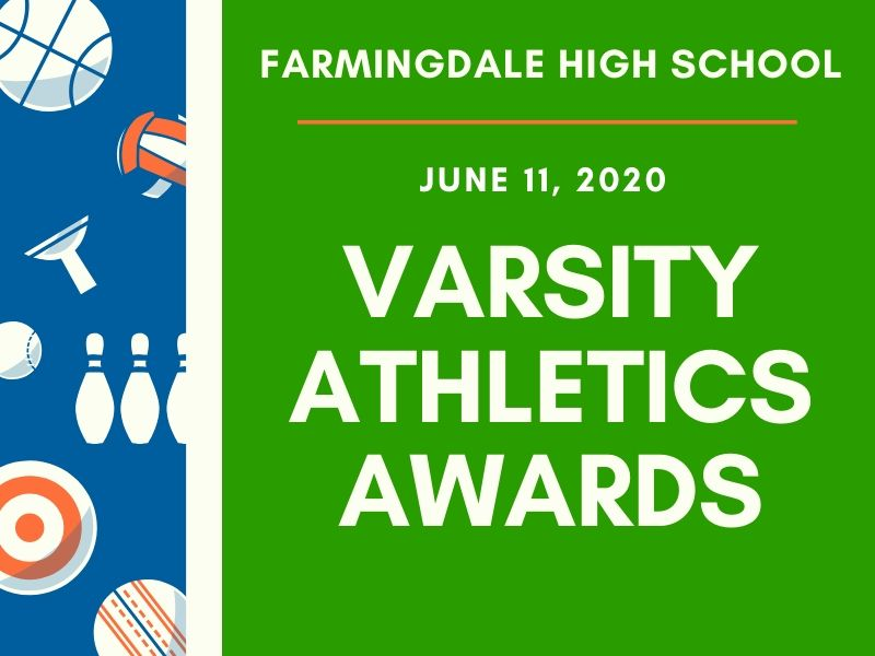 Presenting the 2020 Varsity Athletics Awards Ceremony