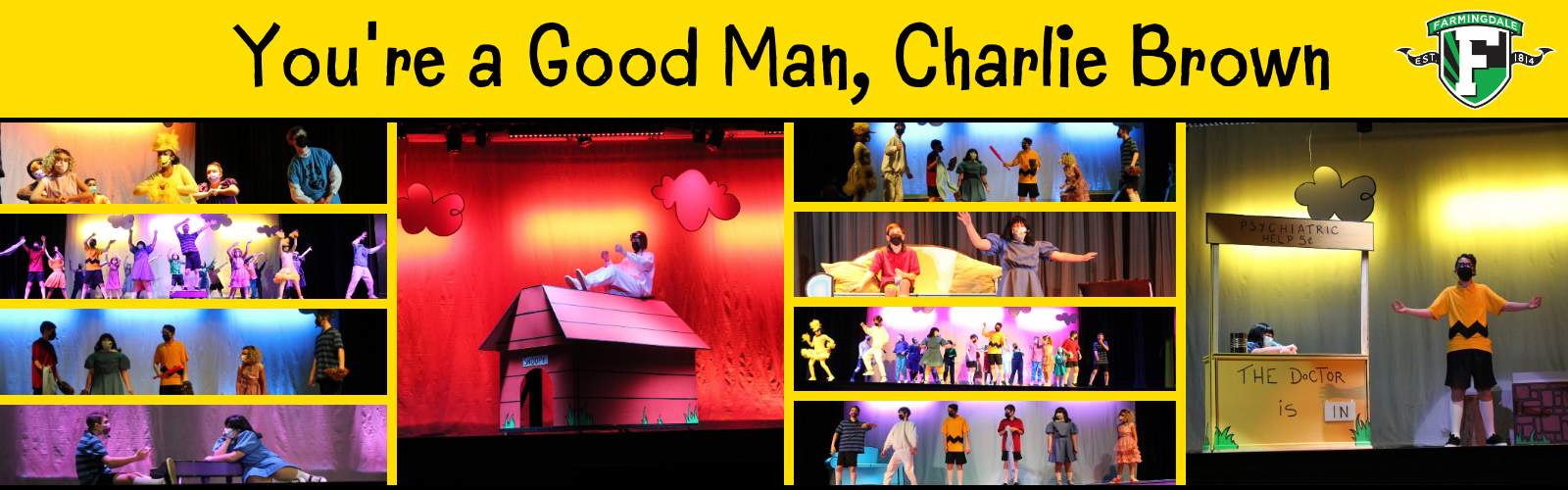 Howitt Middle School Players Perform You're a Good Man, Charlie Brown